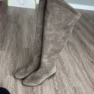 Leather Vince Camuto  Karinda Over the Knee Boot